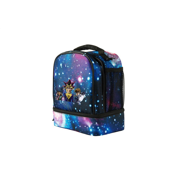 2019 Yu-Gi-Oh! Logo Fashion Two Compartment Lunch Bag