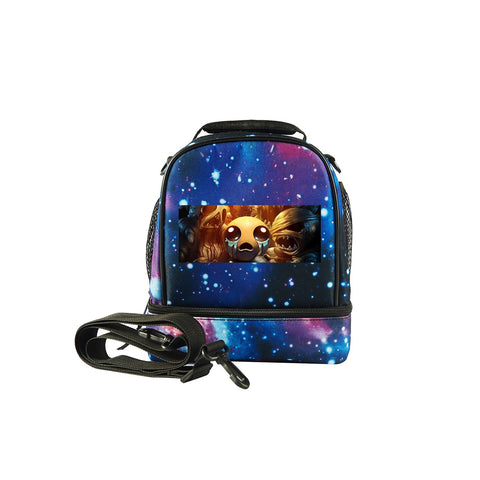 2019 Binding of Isaac Logo Kids Two Compartment Lunch Bag