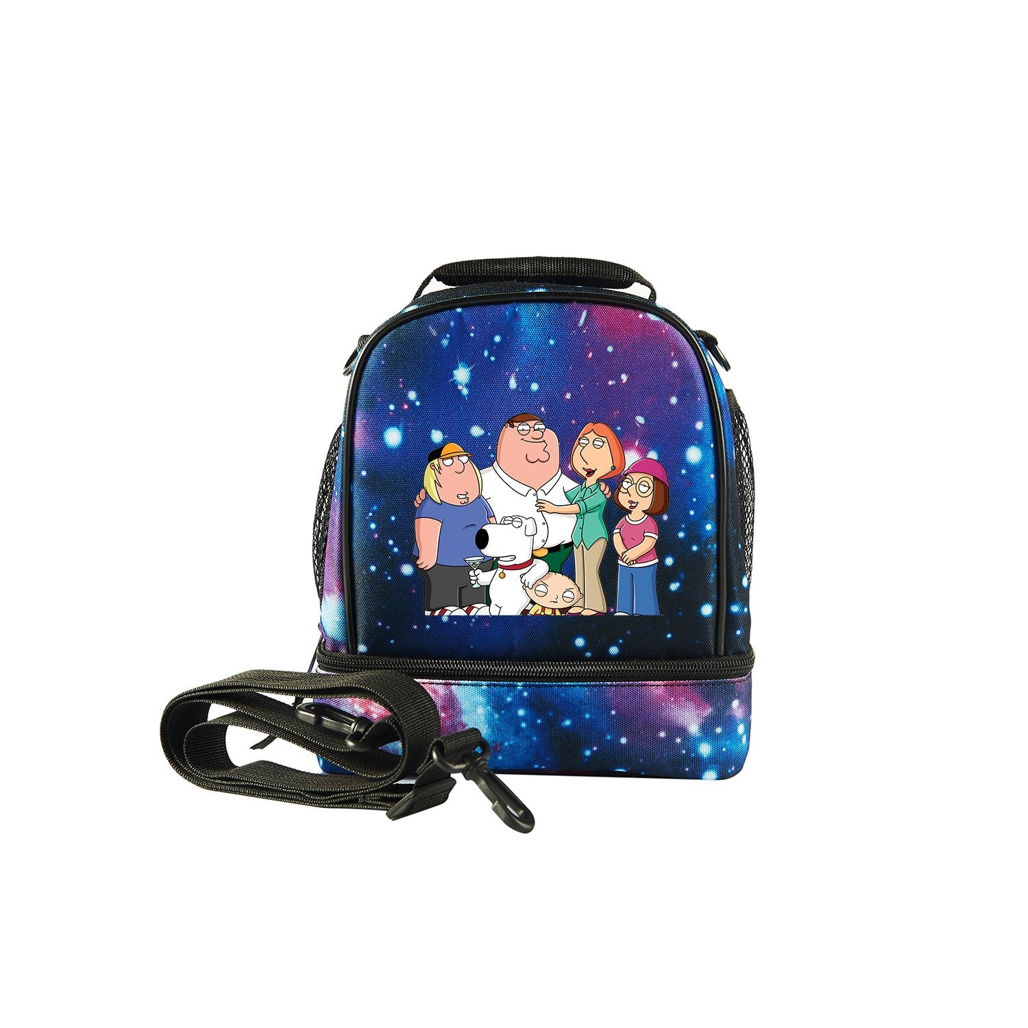 2109 New Family Guy Logo Fashion Two Compartment Lunch Bag