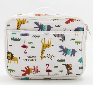 Animals Insulated Lunch Box