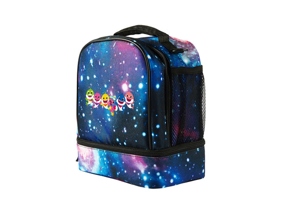 Baby Shark Starry Sky Two Compartment Lunch Bag