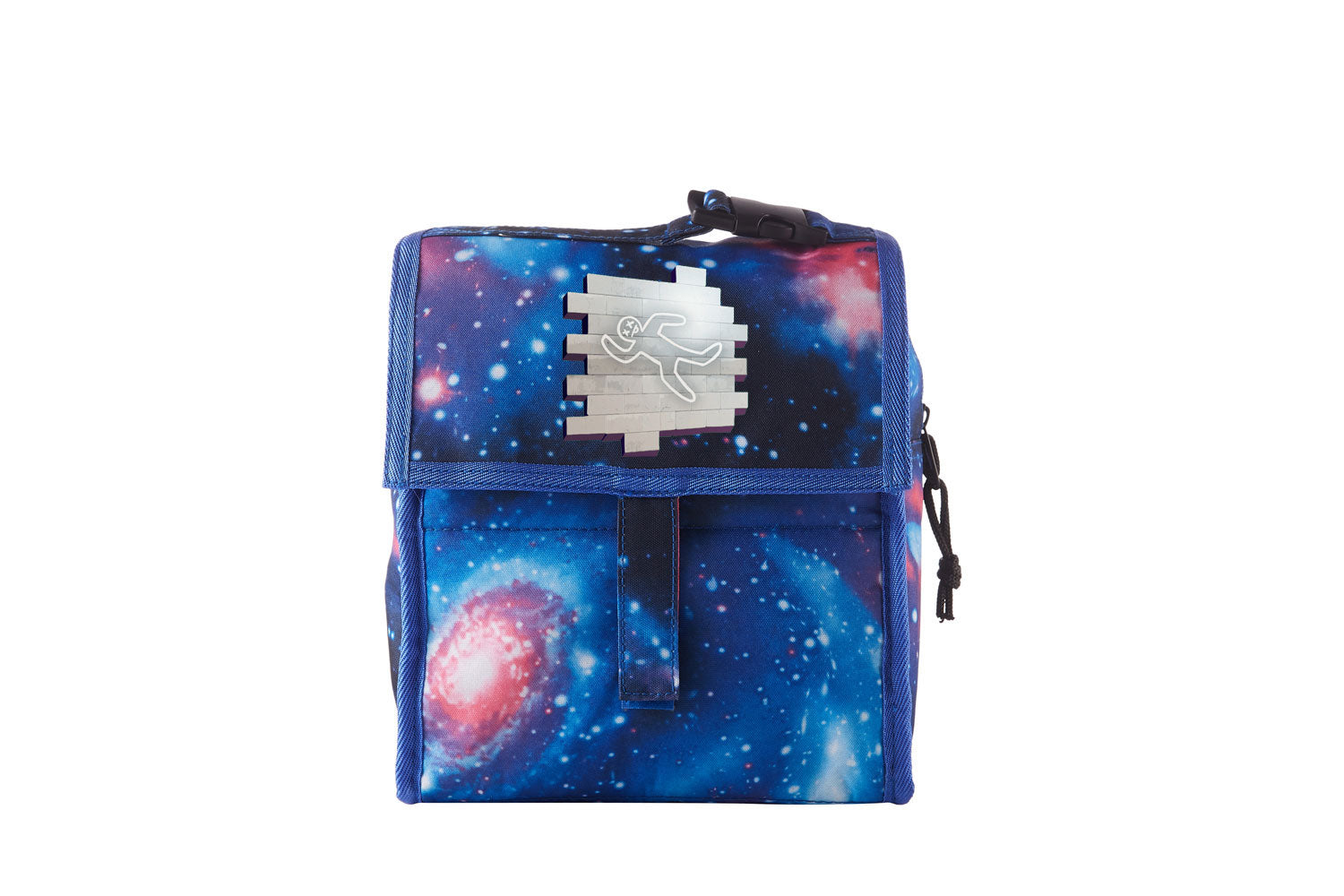 Battle Royale Sprays Chalk Outline Starry Sky Freezable Lunch Bag with Zip Closure