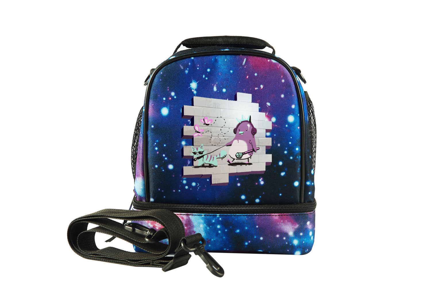 Battle Royale Sprays Royal Stroll Starry Sky Two Compartment Lunch Bag