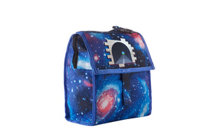 Battle Royale Sprays Tunnel Starry Sky Freezable Lunch Bag with Zip Closure