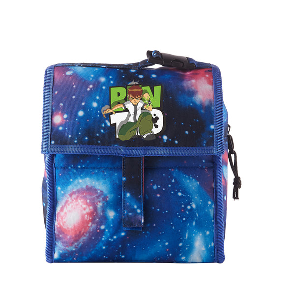 Ben 10 Starry Sky Freezable Lunch Bag with Zip Closure