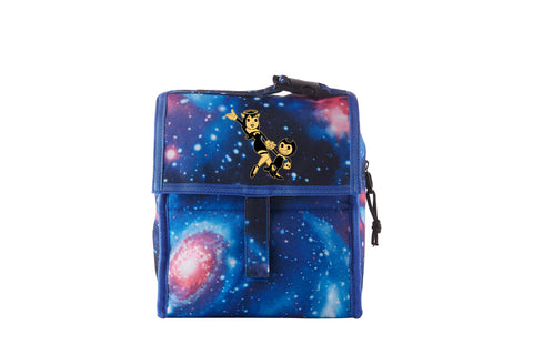 Bendy And The Ink Machine Alice Angel Starry Sky Freezable Lunch Bag with Zip Closure