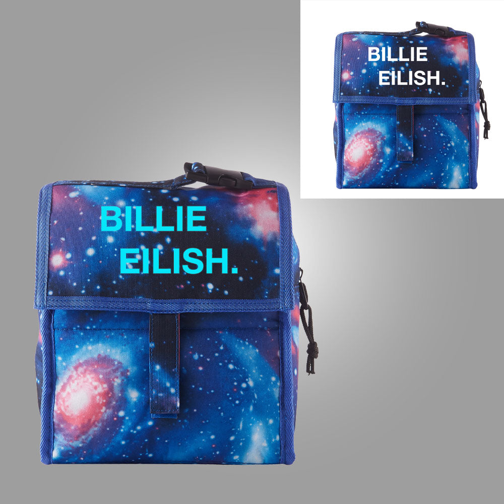 Billie Eilish Starry Sky Freezable Lunch Bag with Zip Closure Glow in Dark