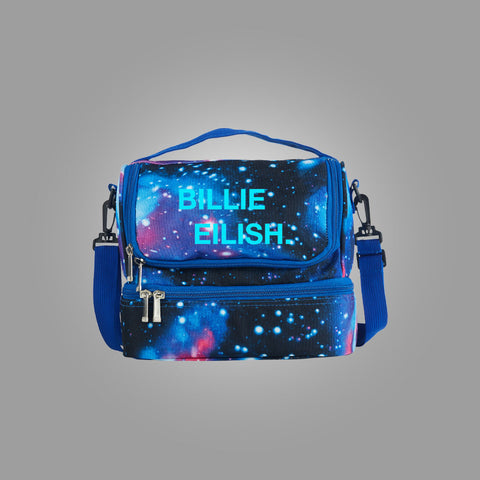 Billie Eilish Two Compartment Lunch Bag Glow In Dark