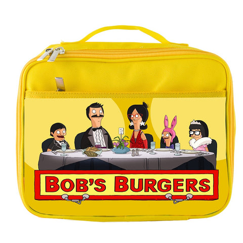 Bob's Burgers Theme Insulated Lunch Box