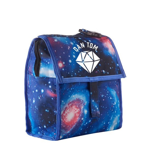 DanTDM Starry Sky Freezable Lunch Bag with Zip Closure Glow In Dark