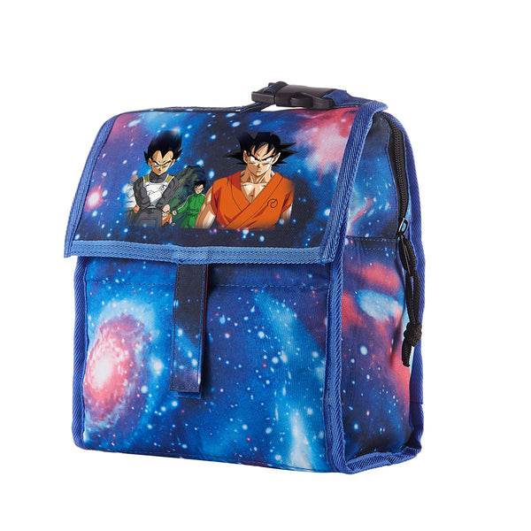 Dragon Ball Starry Sky Freezable Lunch Bag with Zip Closure