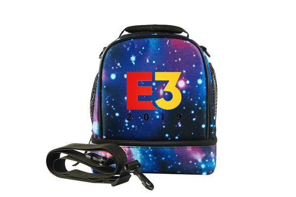 E3 Game Logo Two Compartment Lunch Bag
