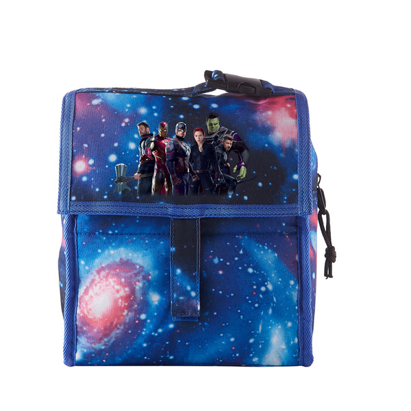 End Game Starry Sky Freezable Lunch Bag with Zip Closure
