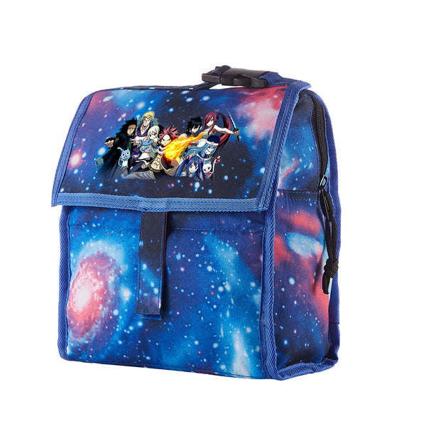 Fairy Tail Starry Sky Freezable Lunch Bag with Zip Closure
