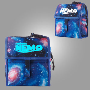 Finding Nemo Turtle Logo Starry Sky Freezable Lunch Bag with Zip Closure Glow In Dark