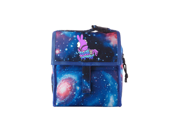Fornitet Llama Freezable Kids Lunch Bag with Zip Closure For School
