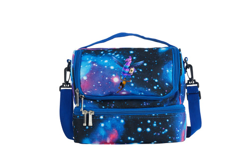 Fortnite Llama With Wings 2019 Kids Two Compartment Galaxy Lunch Bag
