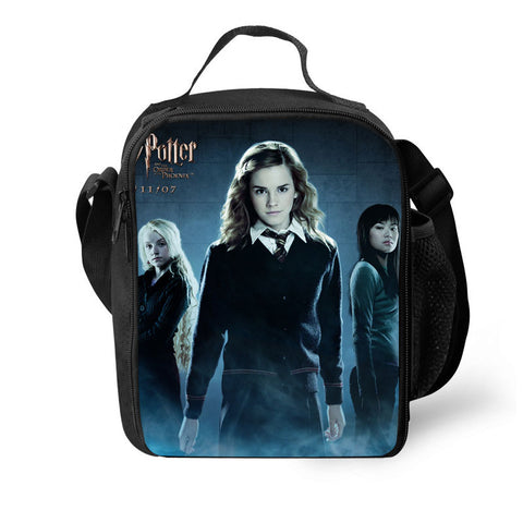 Harry Potter Hermione 3D Pattern Large Capacity Lunch Bag