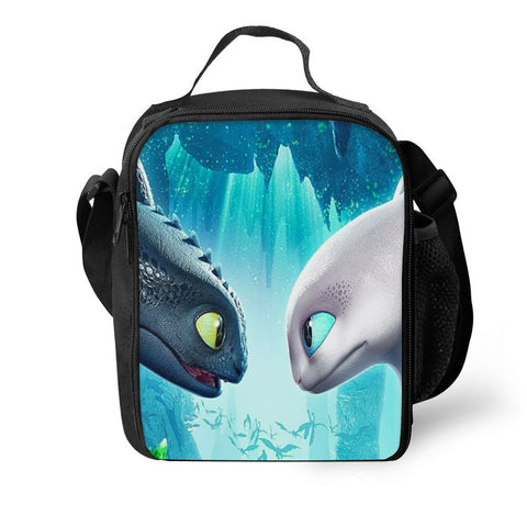 How to Train Your Dragon: The Hidden World 3D Pattern Large Capacity Lunch Bag