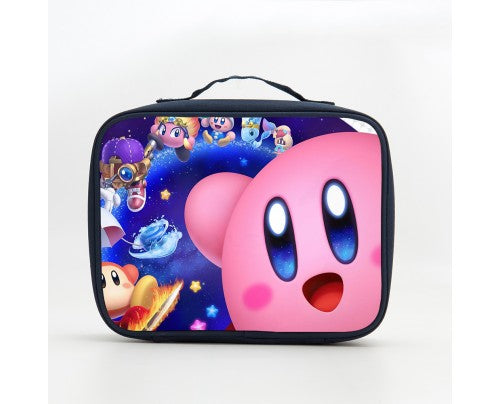 Kirby Boys Girls Two Compartment Lunch Bag