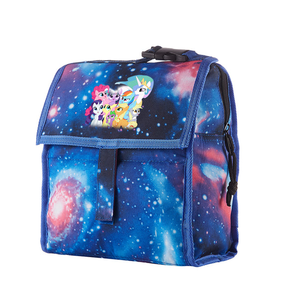 My Little Pony Friendship Is Magic Starry Sky Freezable Lunch Bag with Zip Closure