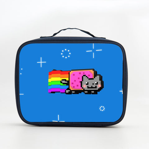 Nyan Cat Rainbow Insulated Lunch Box