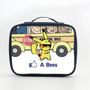 Pikachu Like A Boss Lunch Box
