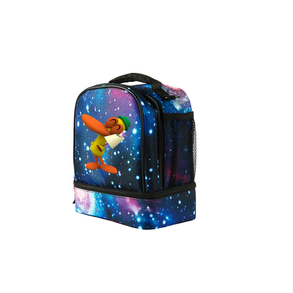 Pocoyo New Two Compartment Fashion Lunch Bag For School