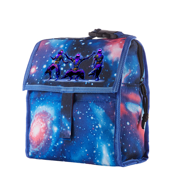 Raven Starry Sky Freezable Lunch Bag with Zip Closure