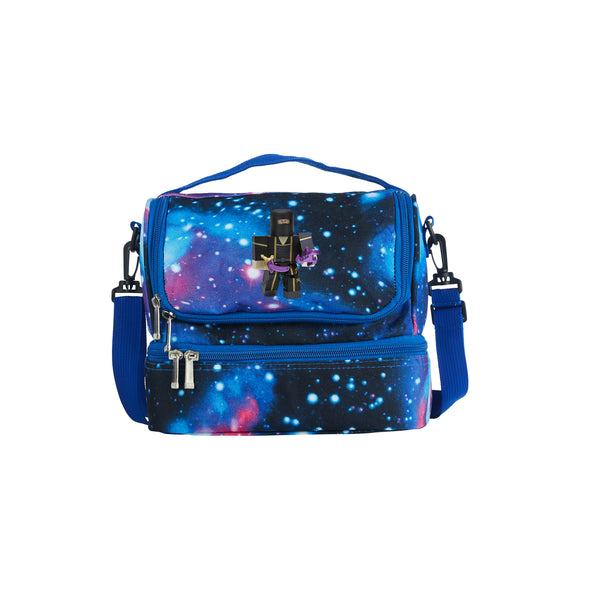 Roblox 2019 Ninja Assassin Yin Clan Master Logo Two Compartment Galaxy Lunch Bag
