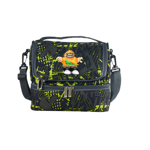 Roblox New Version 2019 Two Compartment Green Graffiti Lunch Bag