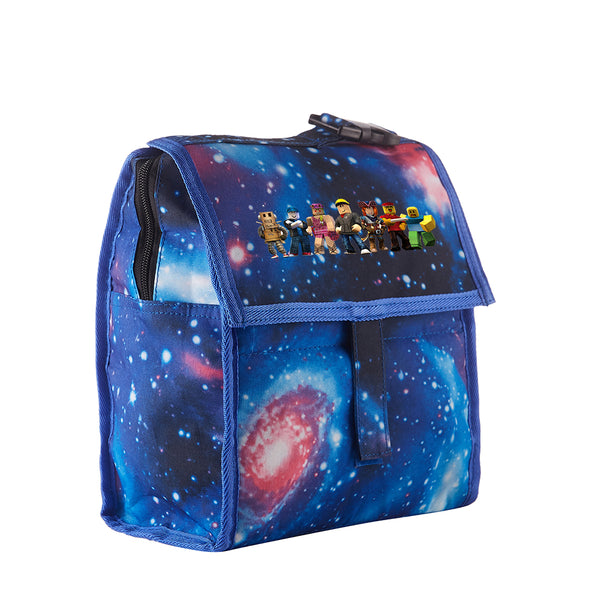 Roblox Starry Sky Freezable Lunch Bag with Zip Closure