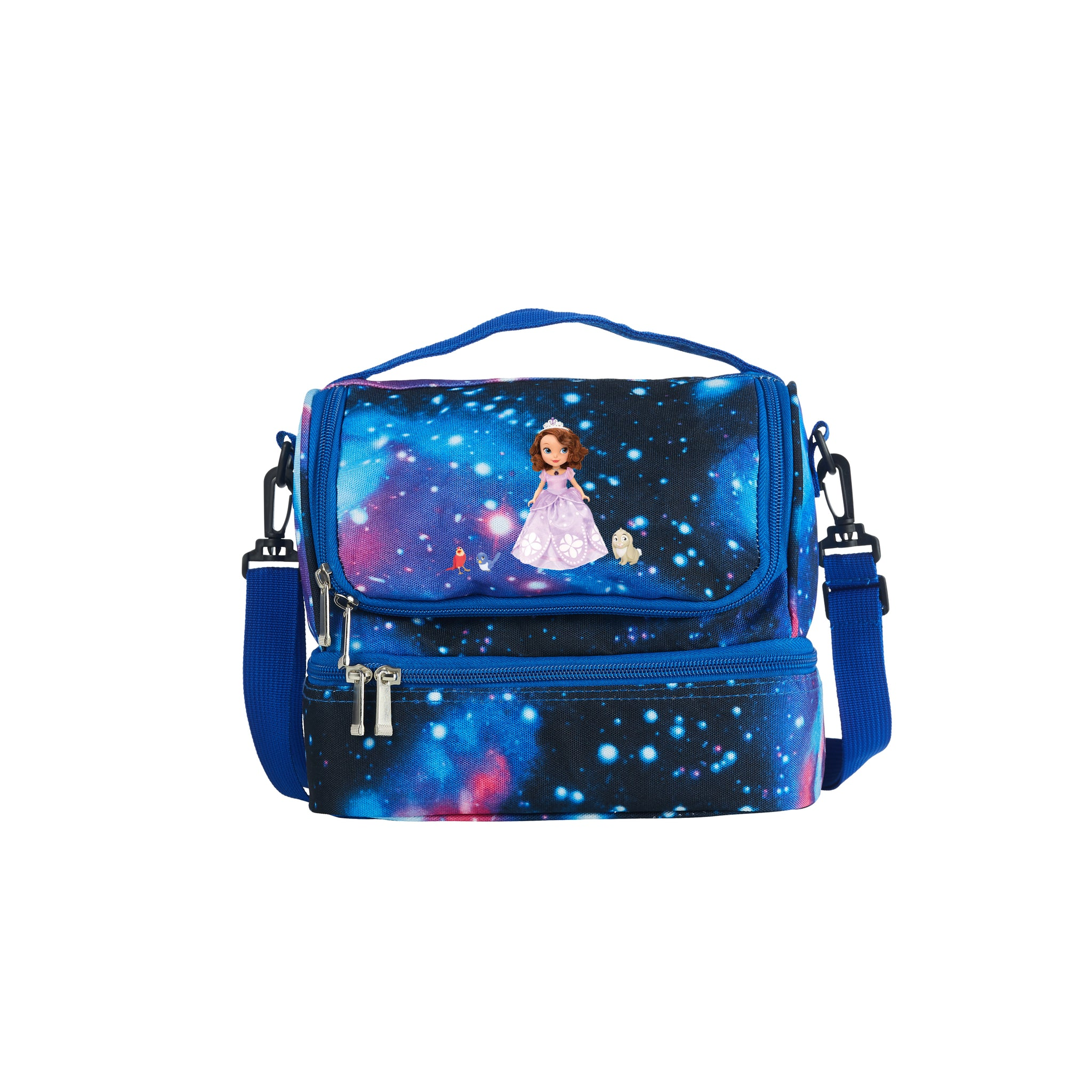 Sofia The First Series 2019 New Two Compartment Galaxy Lunch Bag