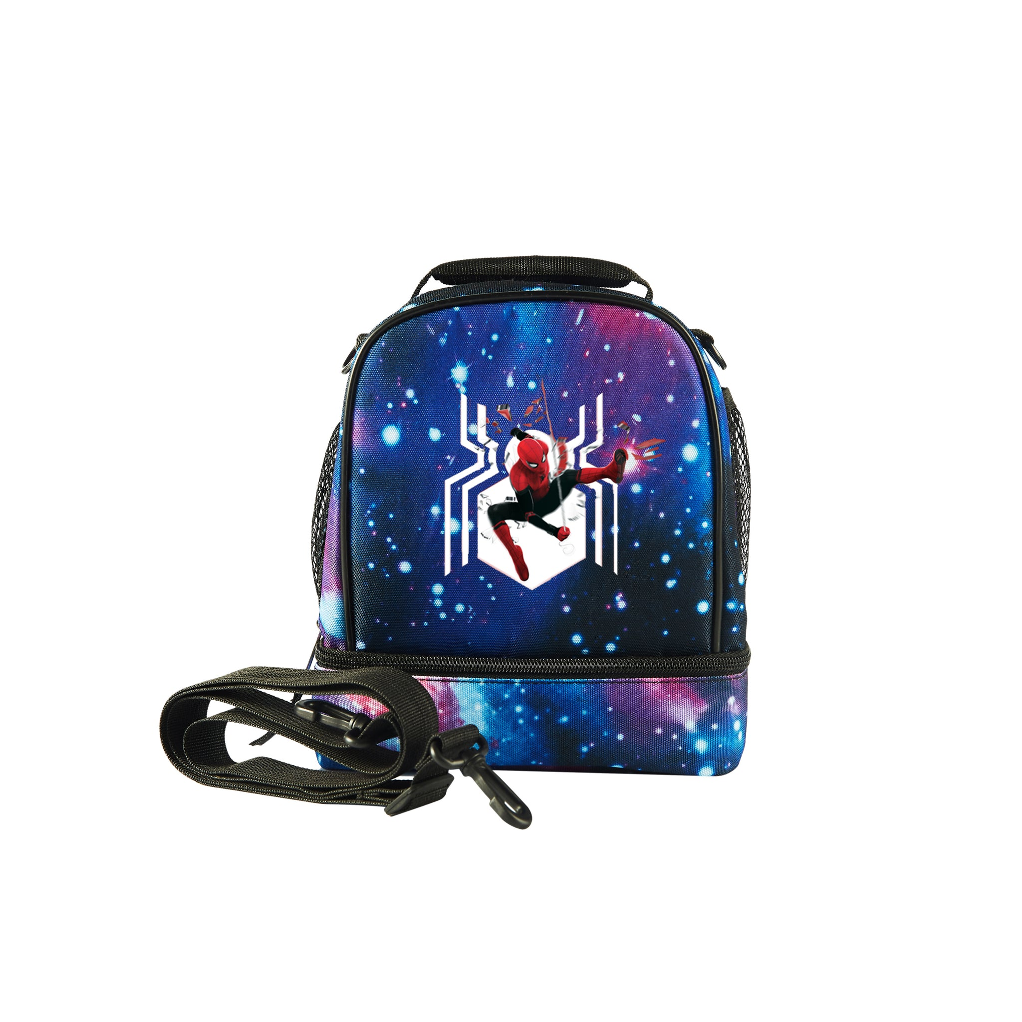 Spider Man Far From Home Durable Two Compartment Lunch Bag