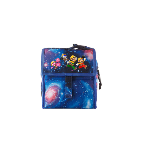 Super Mario Maker 2 Help Princess Peach 2019 Galaxy Freezable Lunch Bag with Zip Closure For School
