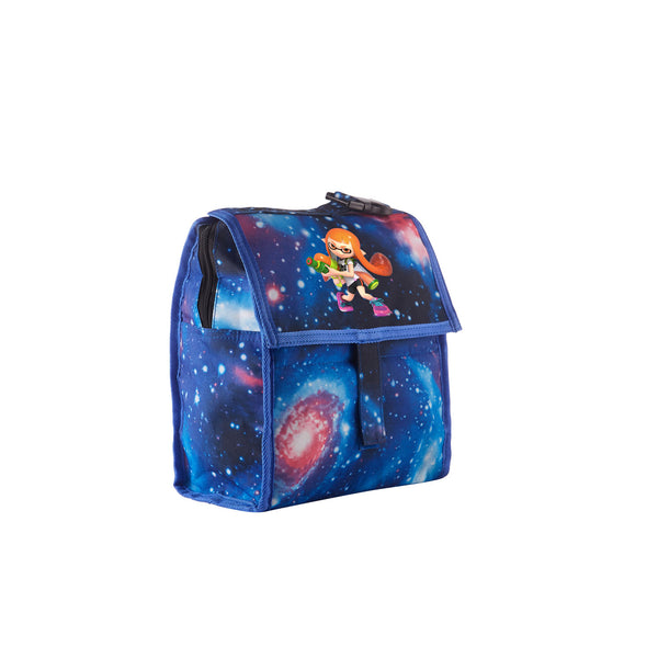 Super Smash Bros Ultimate Splatoon Boys Girls Galaxy Freezable Lunch Bag with Zip Closure