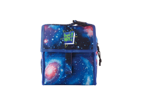 Super Why Starry Sky Freezable Lunch Bag with Zip Closure