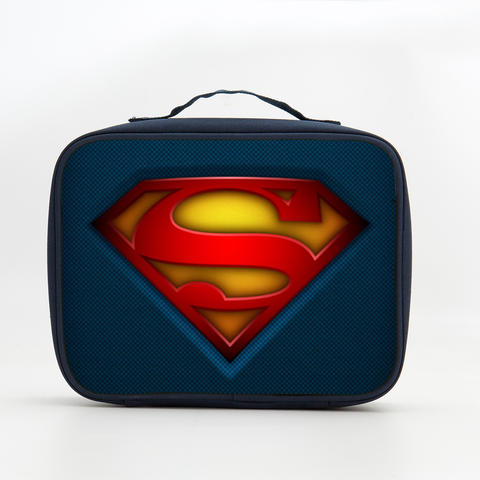 Superman S Logo Insulated Lunch Box