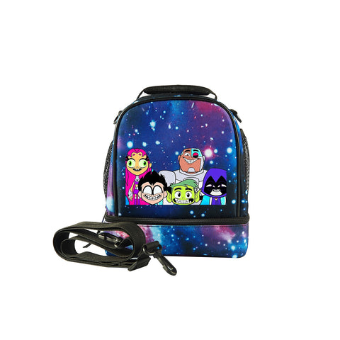 Teen Titans Go! To the Movies Two Compartment Lunch Bag