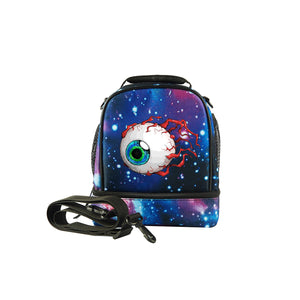 Terraria Eye of Cthulhu Logo Two Compartment Foldable Lunch Bag