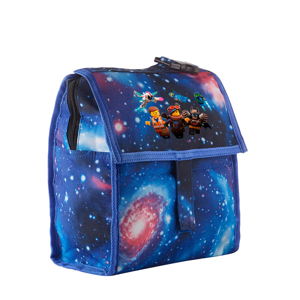 The Lego Movie 2 The Second Part Starry Sky Freezable Lunch Bag with Zip Closure