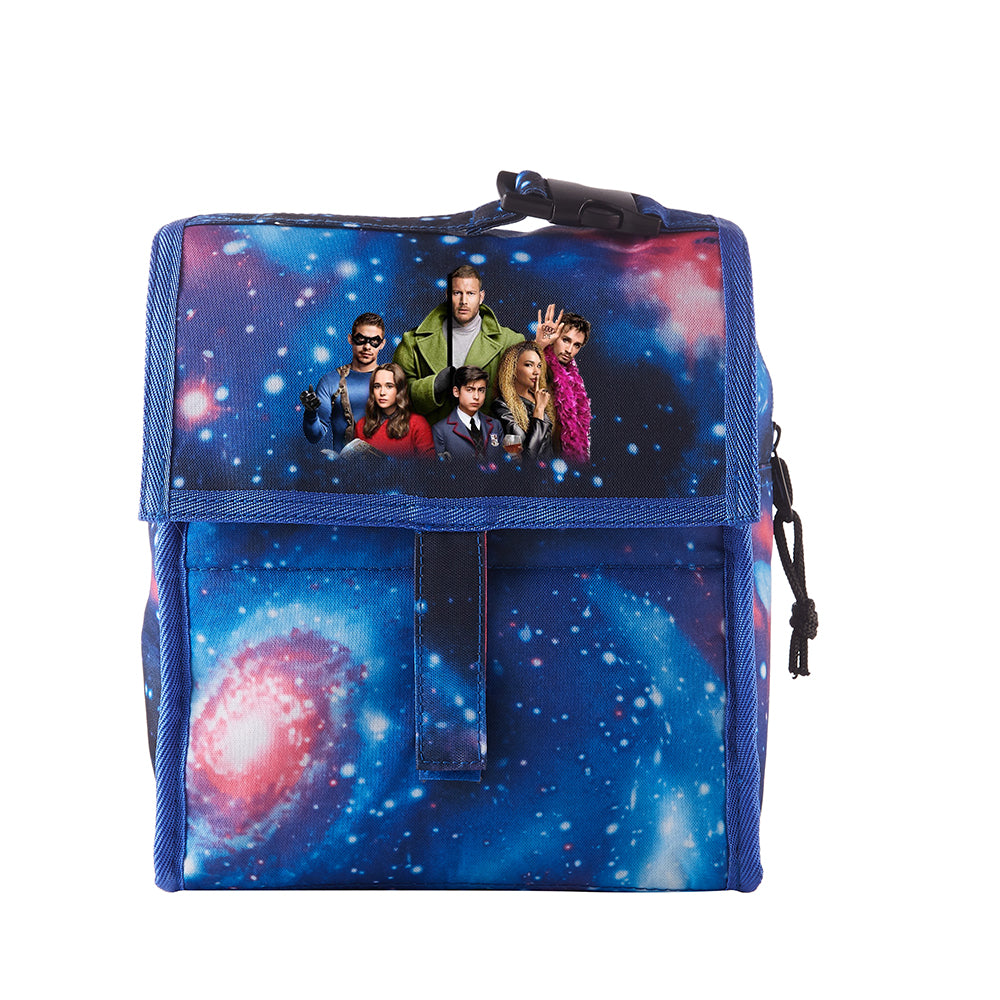 The Umbrella Academy Starry Sky Freezable Lunch Bag with Zip Closure
