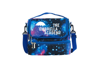 The Umbrella Academy Two Compartment Galaxy Lunch Bag