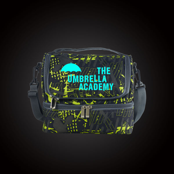 The Umbrella Academy Two Compartment Lunch Bag Glow In Dark