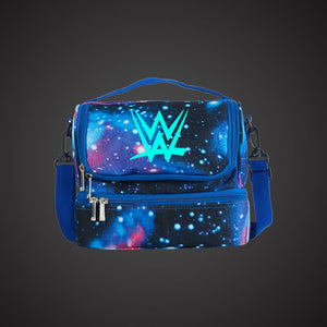Wrestling W Two Compartment Lunch Bag Glow In Dark