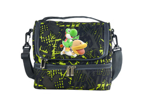 Yoshi's Crafted World Logo Two Compartment Lunch Bag