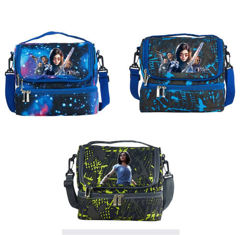 Alita Battle Angel Alita Two Compartment Lunch Bag
