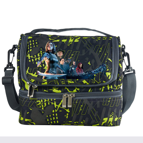 Alita Battle Angel Characters Two Compartment Lunch Bag