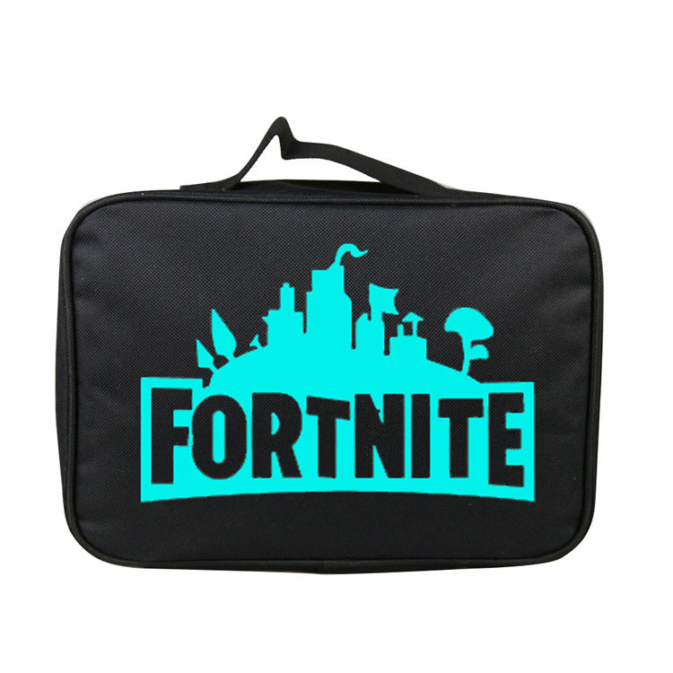 Fortnite Insulated Lunch Box With Logo Glow In The Dark
