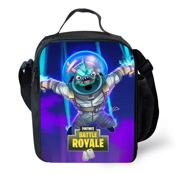 Fortnite Theme 3D Pattern Lunch Bags For Boys